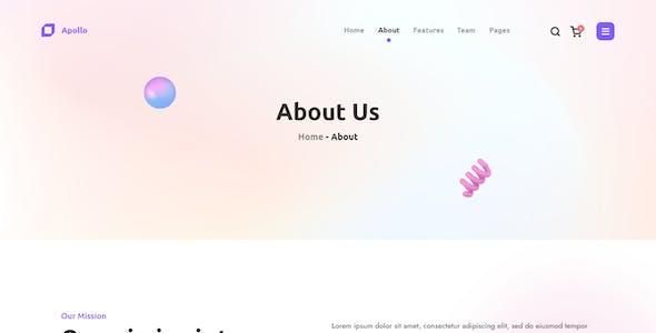 Apollo - Startup SaaS Template