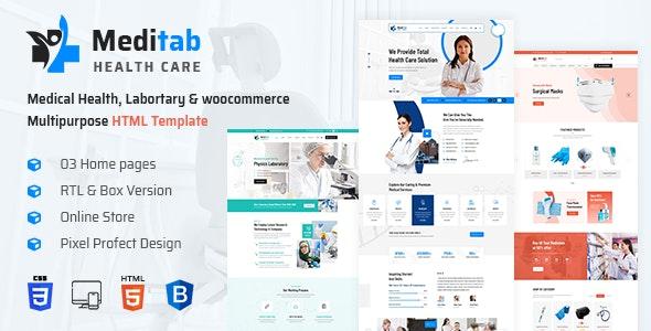 Meditab | Hospital And Medical Multipurpose HTML Template - Health & Beauty Retail