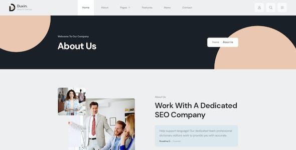 Duxin - Multipurpose Business PSD Template