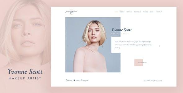 YS - Makeup Artist, Model & Beauty Bootstrap Template