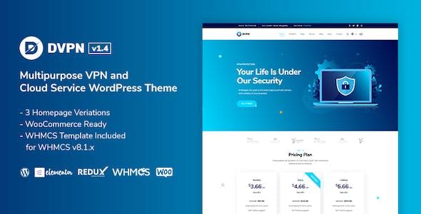DVPN | Multipurpose VPN WordPress Theme