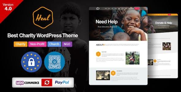 Heal - Multipurpose Charity WordPress Theme