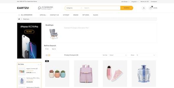 Cartzu - Multipurpose OpenCart Responsive