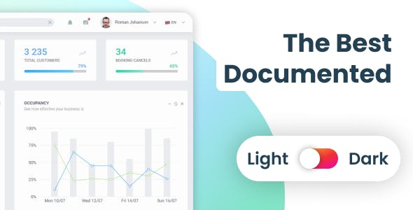 EasyDev — React Redux BS4 Admin & Dashboard Template + Figma