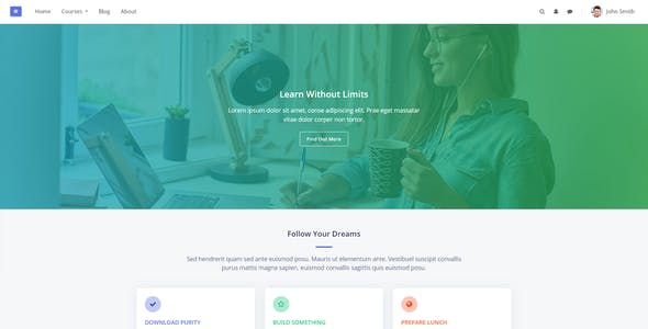 Purity - Premium Moodle Theme