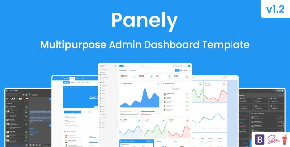Panely - Bootstrap Multipurpose Admin Dashboard Template - Admin Templates Site Templates