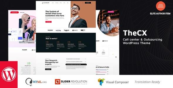 TheCX - Customer Experience WordPress Theme - Corporate WordPress