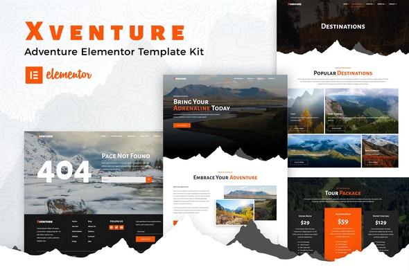 Xventure - Travel Elementor Template Kit - Travel & Accomodation Elementor