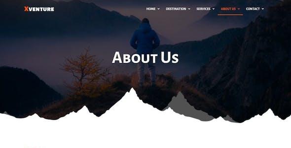Xventure - Travel Elementor Template Kit
