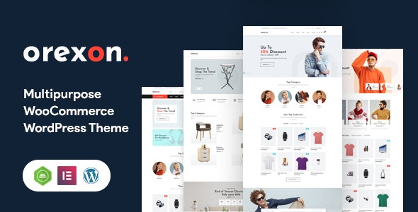 Orexon - Multipurpose WooCommerce WordPress Theme - WooCommerce eCommerce