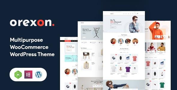 Orexon - Multipurpose WooCommerce WordPress Theme