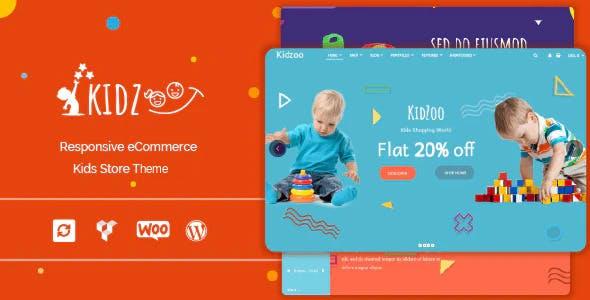 Kidzoo - Children and Baby Store WordPress eCommerce Theme