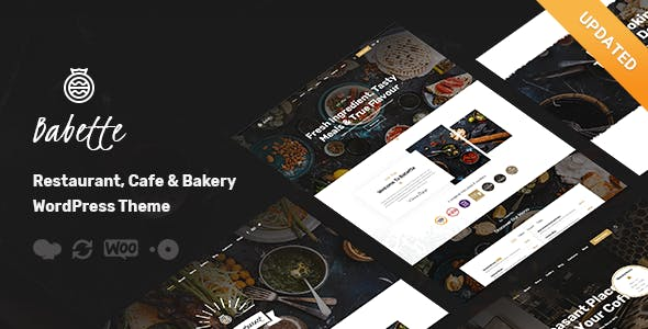 Babette - Restaurant & Cafe WordPress Theme