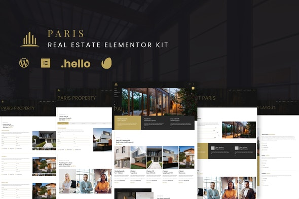 Paris - Real Estate Elementor Kit - Real Estate & Construction Elementor