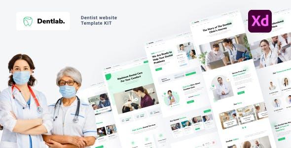 Dentlab - Dentist website template kit