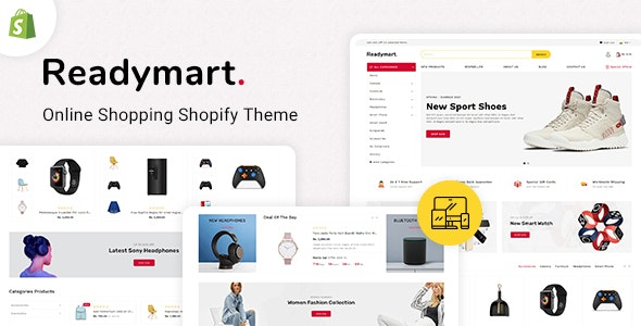 ReadyMart Multipurpose Shopify Responsive Theme - Shopping Shopify