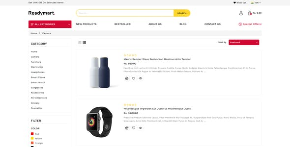 ReadyMart Multipurpose Shopify Responsive Theme