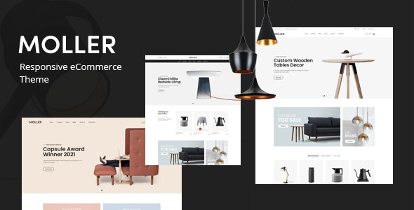 Moller - Furniture & Decor WooCommerce WordPress Theme - WooCommerce eCommerce