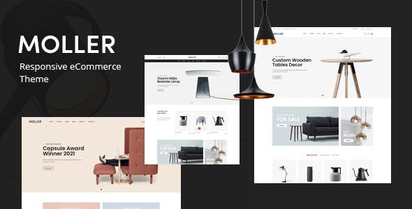 Moller - Furniture & Decor WooCommerce WordPress Theme