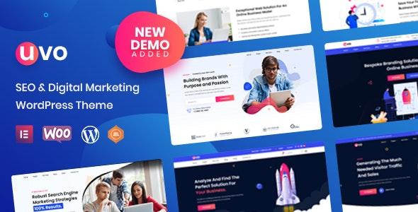 UVO v1.0.2 – SEO & Digital Marketing Theme