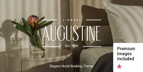 Augustine - Hotel Booking Theme - Travel Retail