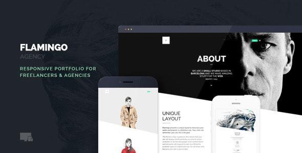 Flamingo - Agency & Freelance Portfolio Theme for WordPress - Creative WordPress