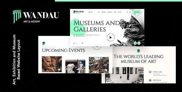 Wandau | Art & History Museum HTML Template - Art Creative