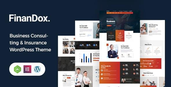 FinanDox - Business Consulting WordPress Theme
