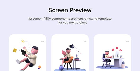 OnlineLearning — Course App UI Kit for Sketch