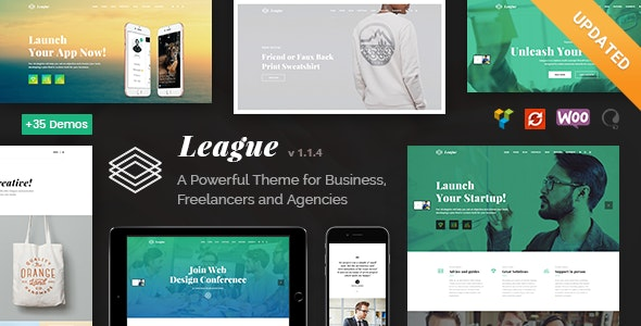 League - A Powerful Theme for Business, Freelancers and Agencies - Business Corporate