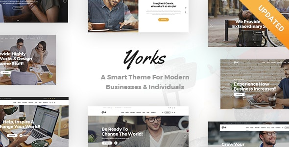 Yorks - A Smart Theme For Modern Businesses & Individuals - Business Corporate