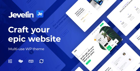 Jevelin | Multi-Purpose Responsive WordPress AMP Theme