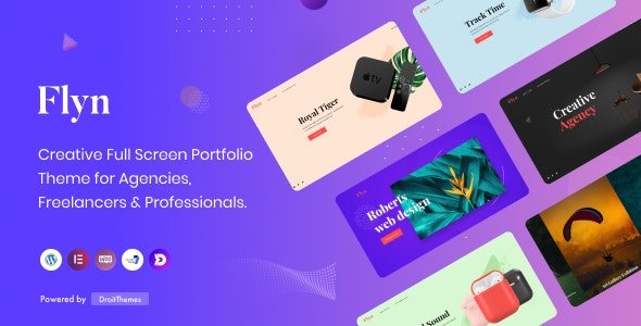 Flyn - Creative Portfolio WordPress Theme - Portfolio Creative