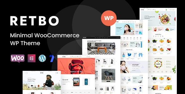 Retbo v1.0.9 – Minimal WooCommerce WordPress Theme