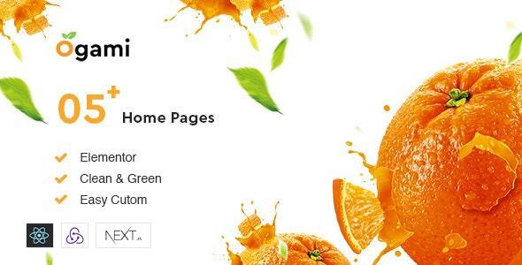 Ogami - React NextJs Organic eCommerce Templates - Food Retail