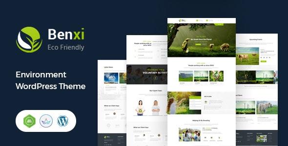 Benxi - Environment WordPress Theme - Environmental Nonprofit