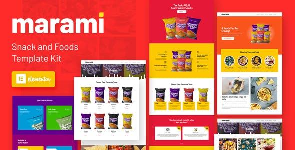 Marami - Snack Brand & Bakery Template Kit
