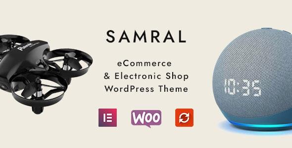Samral - Electronic WooCommerce Theme - WooCommerce eCommerce