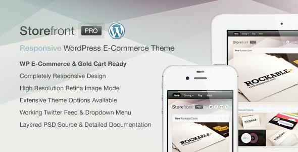 Storefront Pro for WordPress e-Commerce - WP e-Commerce eCommerce