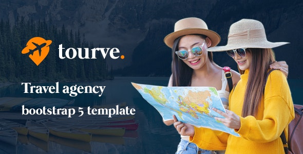 Tourve Travel Agency Bootstrap 5 Template