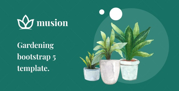 Musion – Gardening and Landscaping HTML Template - Business Corporate