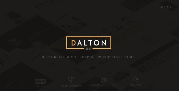 Dalton - Clean Multi-Purpose WordPress Theme - Creative WordPress