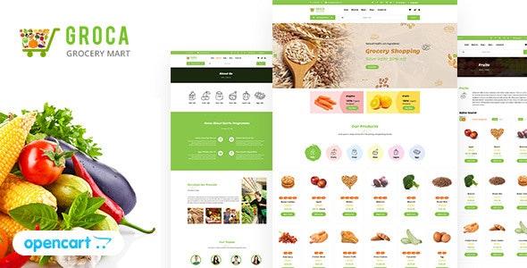 Groca - Grocery, Super Market OpenCart Theme - Shopping OpenCart