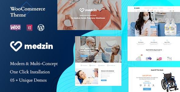 Medzin – Multipurpose Medical WooCommerce WordPress Theme