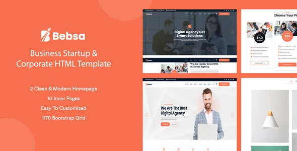 Bebsa - Corporate Business HTML Template - Business Corporate