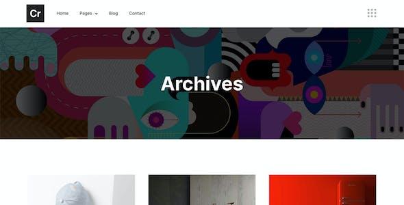 Crispin – Creative Agency Elementor Template Kit