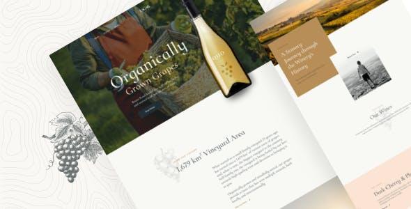 Lagar -  Winery Wine Shop WordPress