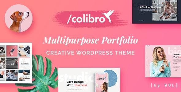 Colibro - Multipurpose Portfolio WordPress Theme - Portfolio Creative