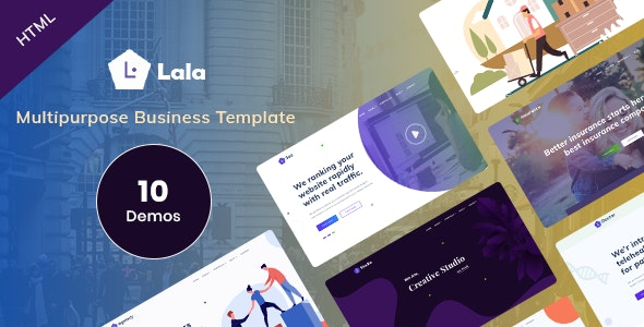 Multipurpose Business HTML Template - Lala - Business Corporate
