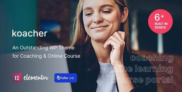 Koacher - Coaching & Online Course WP Theme - Education WordPress